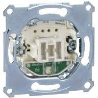 Выключатель одноклавишный с подсветкой, механизм, D-Life Merten MTN3131-0000
