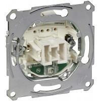 Переключатель одноклавишный перекрестный с подсветкой, механизм, D-Life Merten MTN3137-0000