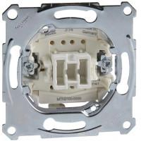 Кнопочный выключатель одноклавишный, механизм, D-Life Merten MTN3150-0000