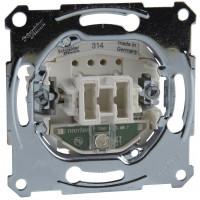Кнопочный выключатель одноклавишный с подсветкой, механизм, D-Life Merten MTN3160-0000