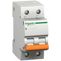Автоматический выключатель ВА63 1П+Н 16A C Schneider Electric 11213