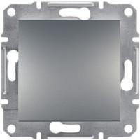 Выключатель одноклавишный, Сталь Asfora, EPH0100162