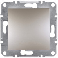 Выключатель одноклавишный, Бронза Asfora, EPH0100169