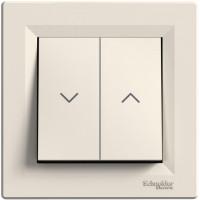 Выключатель для жалюзи, Кремовый, Asfora EPH1300123