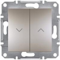 Выключатель для жалюзи, Бронза Asfora, EPH1300169