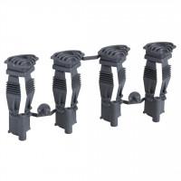 MINI PRAGMA фиксаторы для Г/К 4шт. Пластиковые Schneider Electric MIP99047