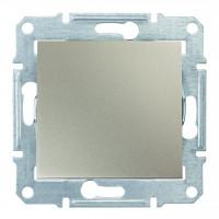 Одноклавишный выключатель10А-250В Титан, Sedna SDN0100168