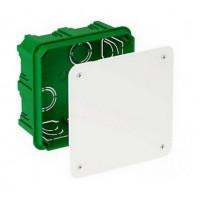 Распределительная коробка для сплошных стен, 100х100х50, Unica IMT35122